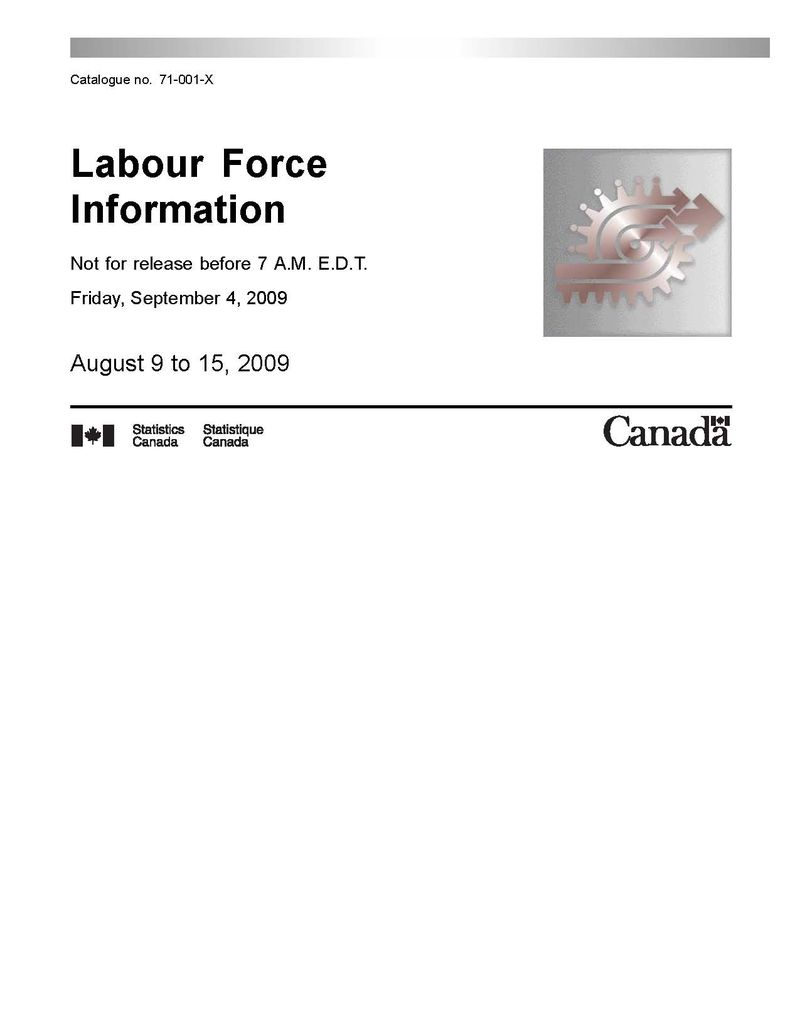 Labour Force Front Cover
